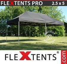 Gazebo Rapido FleXtents Pro 2,5x5m Nero