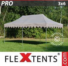 Gazebo Rapido FleXtents Pro 3x6m Latte