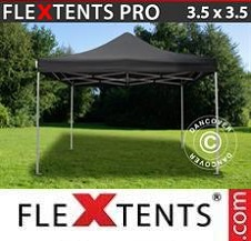 Gazebo Rapido FleXtents Pro 3,5x3,5m Nero