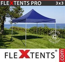 Gazebo Rapido FleXtents Pro 3x3m Blu scuro