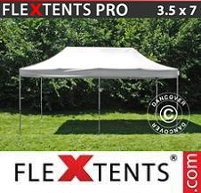Gazebo Rapido FleXtents Pro 3,5x7m Bianco