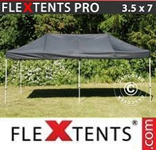 Gazebo Rapido FleXtents Pro 3,5x7m Nero