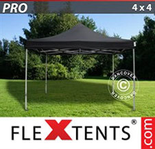 Gazebo Rapido FleXtents Pro 4x4m Nero