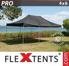 Gazebo Rapido FleXtents Pro 4x6m Nero