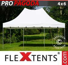 Gazebo Rapido FleXtents Pro 4x6m Bianco