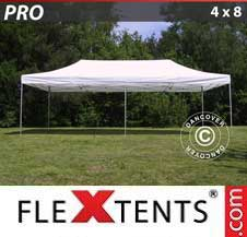 Gazebo Rapido FleXtents Pro 4x8m Bianco