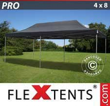 Gazebo Rapido FleXtents Pro 4x8m Nero