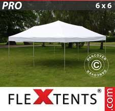 Gazebo Rapido FleXtents Pro 6x6m Bianco