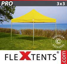 Gazebo Rapido FleXtents Pro 3x3m Giallo