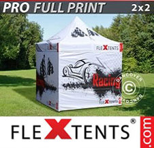 Gazebo Rapido FleXtents Pro 2x2m, incl. 4...