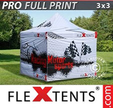 Gazebo Rapido FleXtents Pro 3x3m, incl. 4...