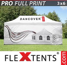 Gazebo Rapido FleXtents Pro 3x6m, incl. 4...
