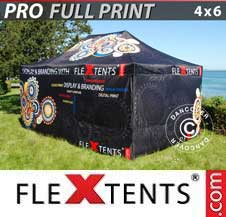 Gazebo Rapido FleXtents Pro 4x6m, incl. 4...