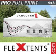 Gazebo Rapido FleXtents Pro 4x8m, incl. 4...