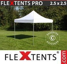Gazebo Rapido FleXtents Pro 2,5x2,5m Bianco