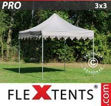 Gazebo Rapido FleXtents Pro 3x3m Latte
