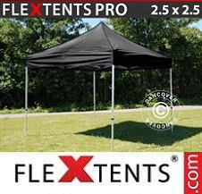 Gazebo Rapido FleXtents Pro 2,5x2,5m Nero