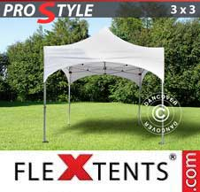 Gazebo Rapido FleXtents Pro 3x3m Bianco