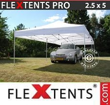 Gazebo Rapido FleXtents Pro 2,5x5m Bianco
