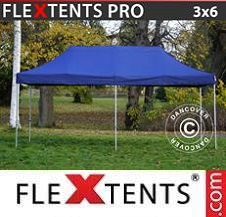 Gazebo Rapido FleXtents Pro 3x6m Blu scuro