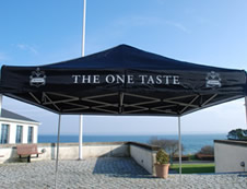Gazebo Rapido - Branding / Marketing Flextents